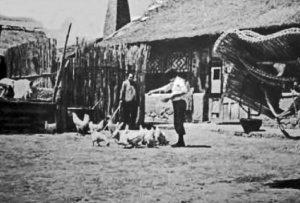 満州の農家