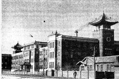 吉林鉄路局局舎