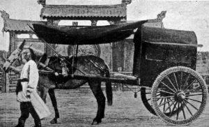 満州の馬車